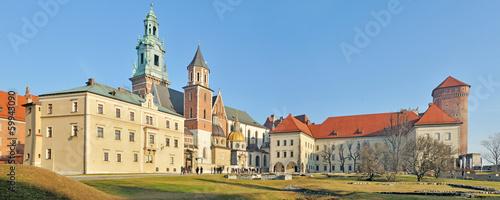 Wawel Royal Castle -Stitched Panorama #59943090