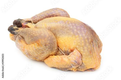 Canvastavla Pintade fraiche - Fresh guinea fowl