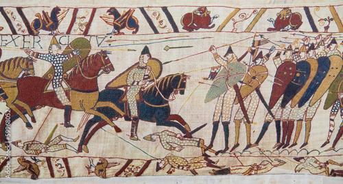 Fotografija Bayeux tapestry - Norman invasion of England