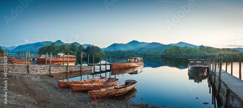 Fotografiet Derwent Water, Lake District
