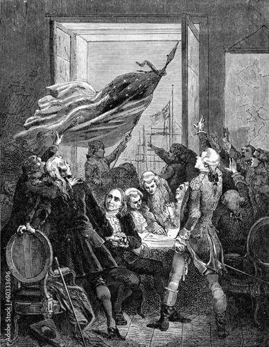Valokuva American Declaration of Independence