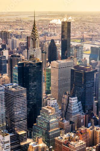 Fototapeta premium Manhattan, Nowy Jork. USA.