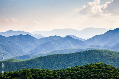 Fotografia Góra w południowych Chinach