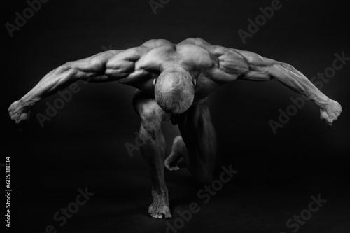 Canvas Print bodybuilding