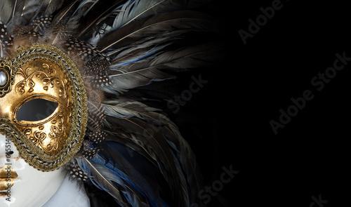 Fotografie, Obraz Venetian mask
