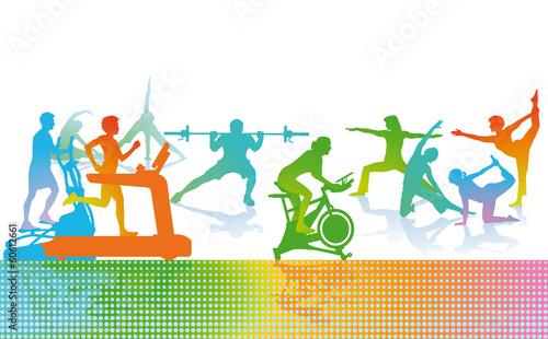 Fitness und Sport #60612661