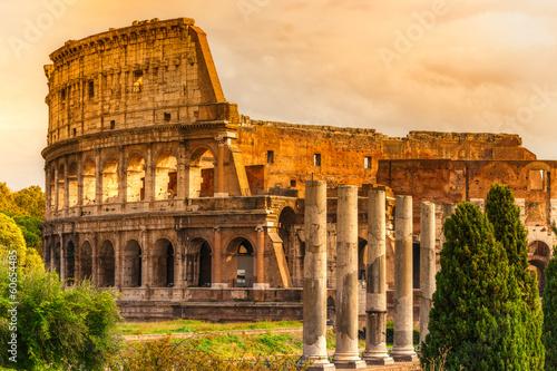 Fotografía The Majestic Coliseum, Rome, Italy.