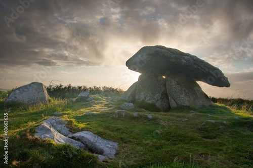 Fotografia, Obraz Chun Quoit Cornwall England UK