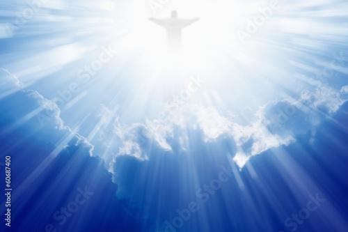 Foto Jesus Christ in heaven