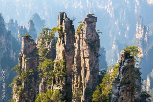 Zhangjiajie Lasu Państwowego park Chiny