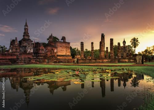 Fotografia Sukhothai historical park