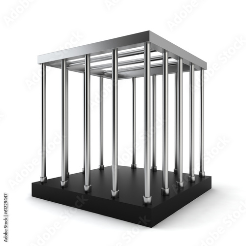 Slika na platnu Steel cage