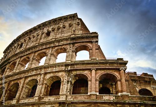 Obraz na płótnie Ancient Colosseum in Rome