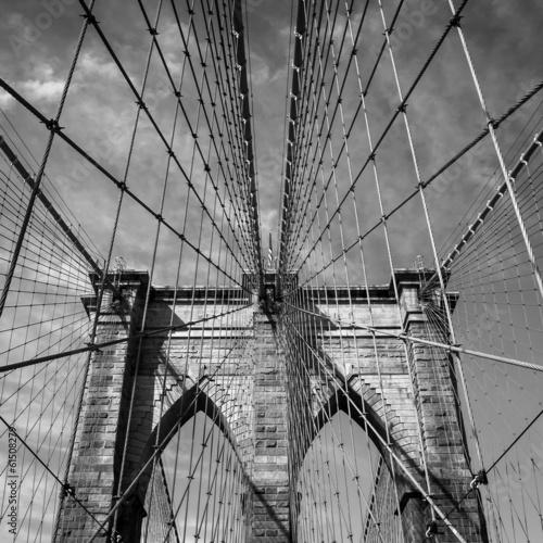 Naklejka na szafę Most Brooklyński, Miasto Nowy Jork