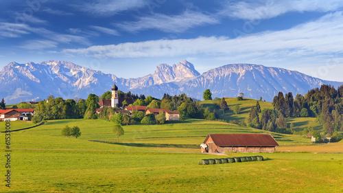 Fotografia, Obraz Bavarian landscape, Germany