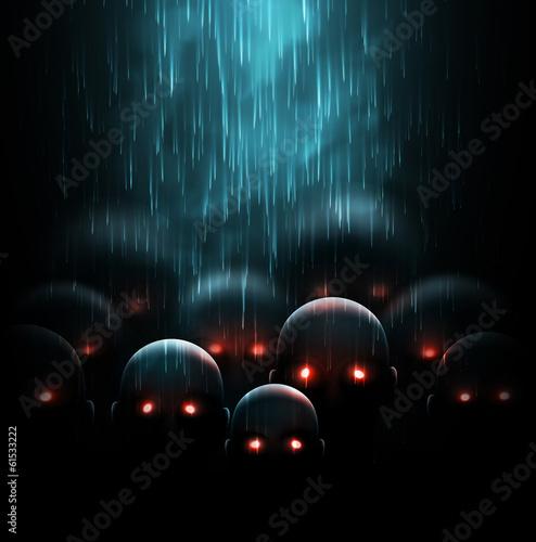 Obraz na plátne Zombie apocalypse