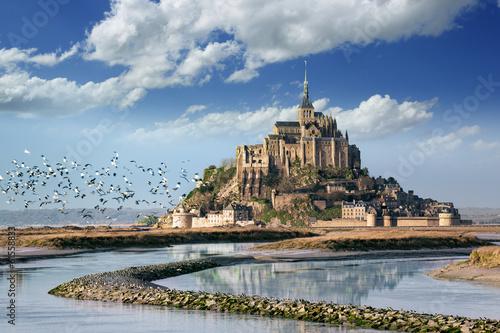 Canvas Print Le Mont Saint Michel
