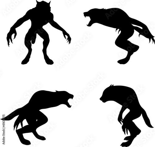 Photo werewolf