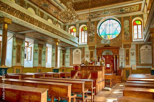 Fototapeta Synagogue interior