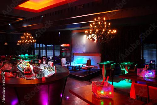 Fotografia Nightspot Nightclub interior