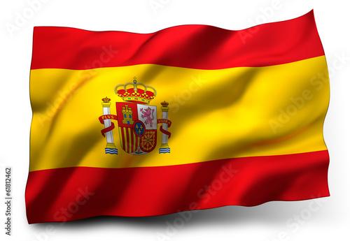 Wallpaper Mural flag of Spain