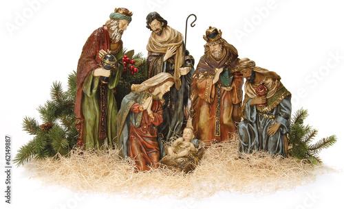 Nativity scene. #62149887