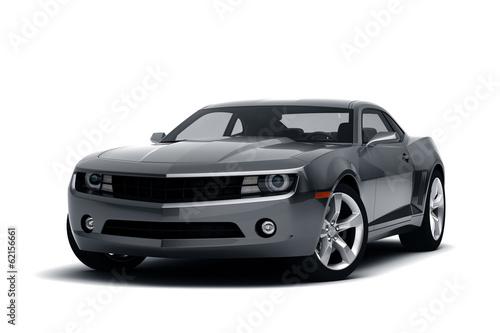 Fototapeta premium Samochód sportowy - samochód wyścigowy