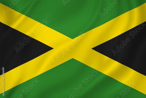 Wallpaper Mural Jamaica flag