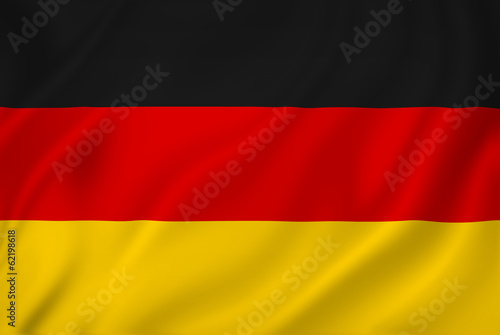 Wallpaper Mural Germany flag