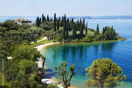 Fotografie, Obraz Garda lake resort in Italy