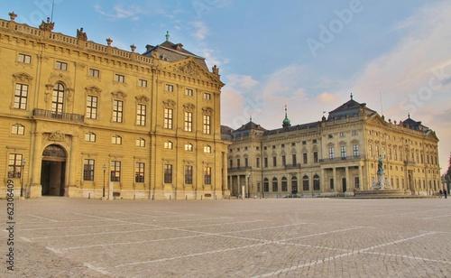 Foto Residenz Würzburg von Balthasar Neumann