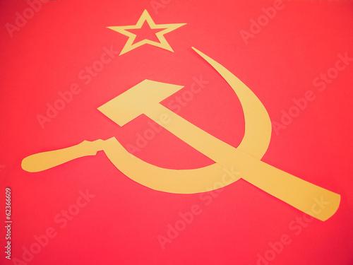 Retro look CCCP Flag #62366609