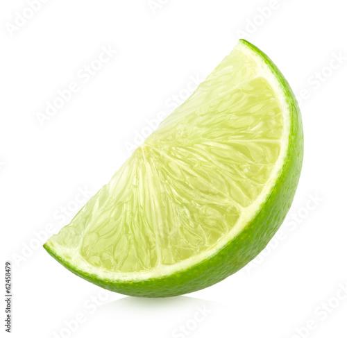 ripe lime slice