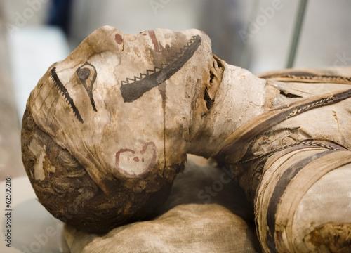 Canvastavla egyptian mummy