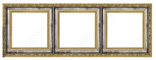Obraz na płótnie Triptych isolated