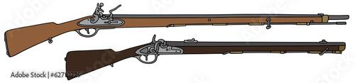 Fotografie, Obraz vintage guns