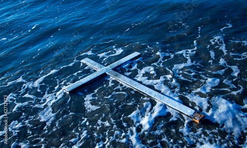 Foto Floating Cross