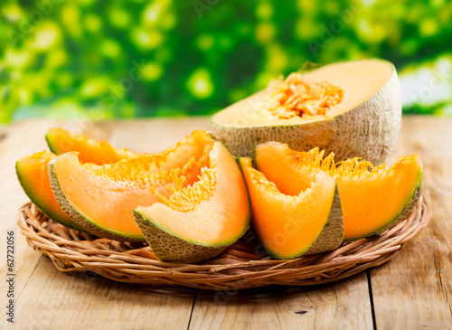 Stampa su Tela fresh melon