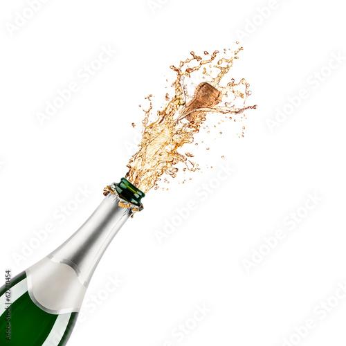 Fényképezés bottle of champagne