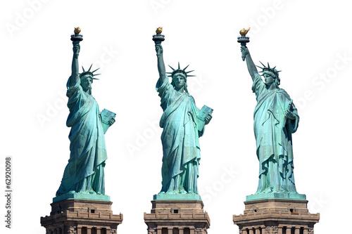 Canvas Print statue of liberty - New York - freigestellt