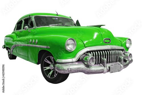 Tableau sur Toile Old american car