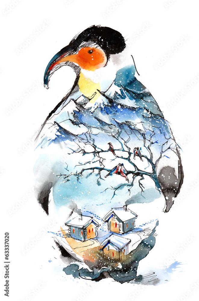 zimowy <span>plik: #63337020   autor: okalinichenko</span>