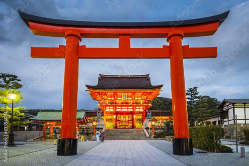 Photo Fushimi Inari Taisha Shrine, Kyoto, Japan