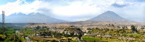 Arequipa, Peru with Misti Volcano #63600837