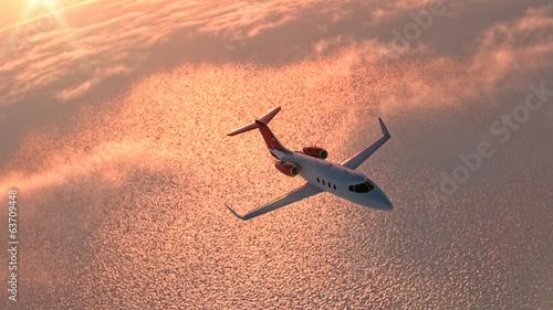 Stampa su Tela Private jet