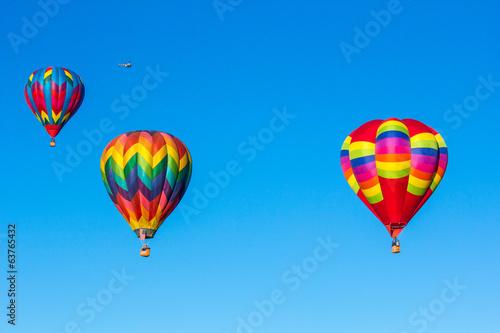 Hot air balloons Fototapet