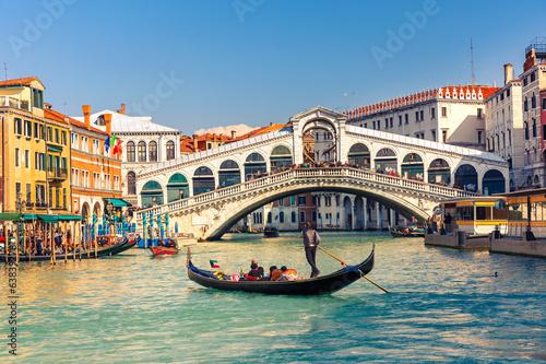 Fotografia Rialto Bridge in Venice