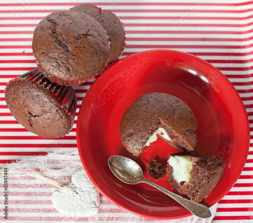 Photo Babeczki mufinki czekoladowe