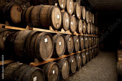 Obraz na płótnie Wine barrels