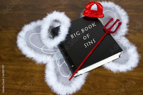 Obraz na plátně Big Book of Sins